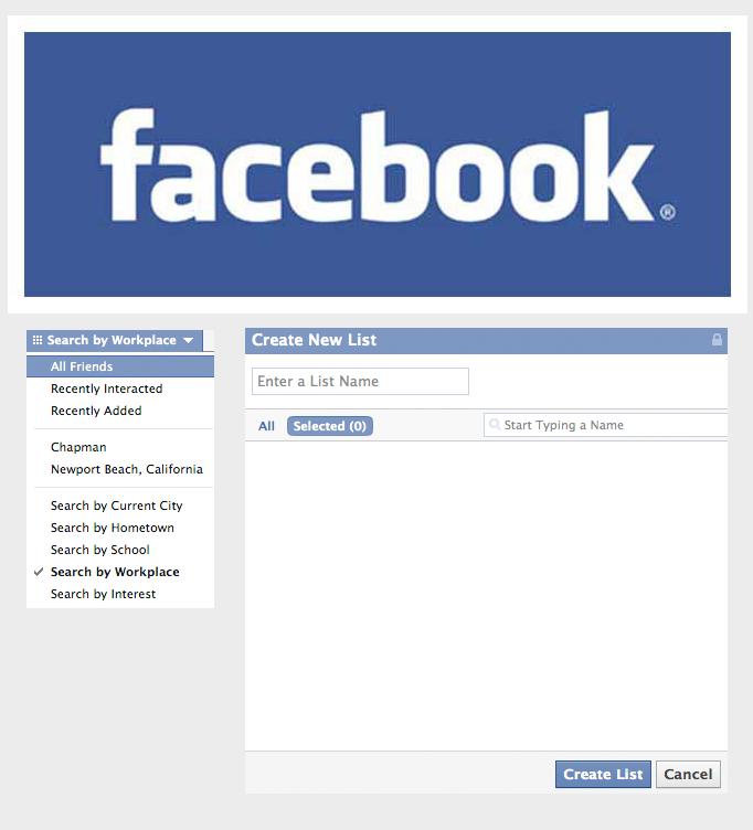 Facebook Friend Lists - Digital Marketing Agency - Lead